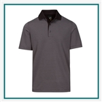 Greg Norman Men's ML75 Protek Microlux Stripe with Custom Embroidery, Greg Norman Custom Polos, Greg Norman Custom Logo Gear