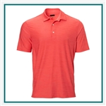 Greg Norman Heathered Stretch Polo Custom Embroidered