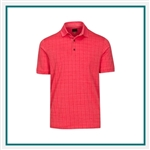 Greg Norman Men's Spark Polo with Custom Embroidery, Greg Norman Custom Polos, Greg Norman Custom Logo Gear