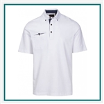 Greg Norman Dawn Pocket Polo Corporate Logo