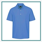 Greg Norman Play Dry Protek Micro Pique Polo Corporate Logo