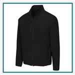 Greg Norman Full Zip Windbreaker Jacket Corporate Logo