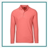 Greg Norman Solar XP Weatherknit LS Pique Polo Custom Logo