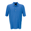 Greg Norman Men's Play Dry Diamond Embossed Polo with Custom Embroidery, Greg Norman Custom Polos, Greg Norman Custom Logo Gear