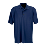Greg Norman Men's Play Dry Horizontal Textured Stripe Polo with Custom Embroidery, Greg Norman Custom Polos, Greg Norman Custom Logo Gear