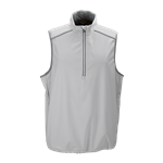 Greg Norman Men's ¼ Zip Weatherknit Vest with Custom Embroidery, Greg Norman Promotional Vests, Greg Norman Corporate Golf Outerwear