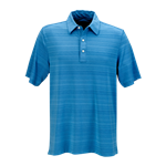 Greg Norman Men's Play Dry Uneven Heather Textured Polo with Custom Embroidery, Greg Norman Custom Polos, Greg Norman Custom Logo Gear