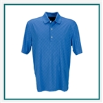 Greg Norman Play Dry Diamond Embossed Polo Custom Embroidered