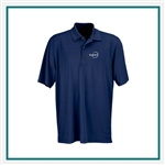 Greg Norman Play Dry Horizontal Textured Stripe Polo Custom Embroidery