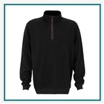 Greg Norman Rib Mock Neck Sweater Corporate Logo