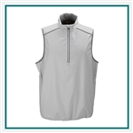 Greg Norman ¼ Zip Weatherknit Vest Corporate Logo