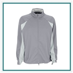 Greg Norman Full Zip Pieced Weatherknit Corporate Logo