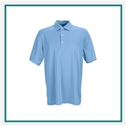 Greg Norman Play Dry ML75 Tonal Stripe Polo Custom Embroidered