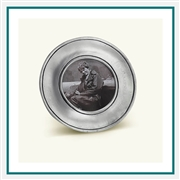 MATCH Pewter Lombardia Round Small Frame Custom