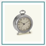 MATCH Pewter Toscana Custom Alarm Clocks