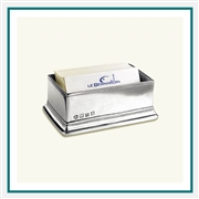 MATCH Pewter Sugar Packet/Business Card Holder 1283.0, MATCH Pewter Custom Card Holders, Promo Pewter Card Holders