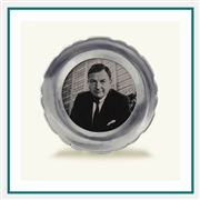 MATCH Pewter Carretti Round Frame, Sm. 1352.0, MATCH Pewter Custom Picture Frames, Promo Frames
