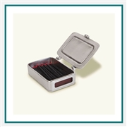 MATCH Pewter Match Box w/ Striker and Matches 1390.0 MATCH Pewter Custom Decorative Boxes, Promo Boxes