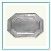 MATCH Pewter Octagonal Tray For Tureen 740.0, MATCH Pewter Custom Trays, Promo Trays