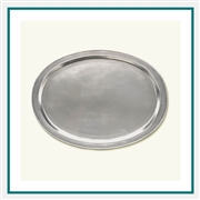 MATCH Pewter Oval Incised Tray 847.0, MATCH Pewter Custom Trays, Promo Trays