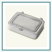 MATCH Pewter Lidded Box, Small 945.1 MATCH Pewter Custom Decorative Boxes, Promo Boxes