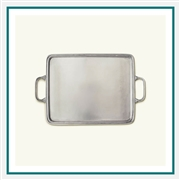 MATCH Pewter Rectangle Tray with Handles 964.4, MATCH Pewter Custom Trays, Promo Trays
