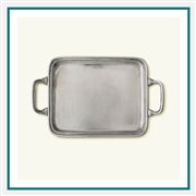 MATCH Pewter Rectangle Tray with Handles 964.5, MATCH Pewter Custom Trays, Promo Trays