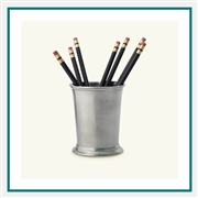 MATCH Pewter Lugano Pencil Cup A414.5, MATCH Pewter Custom Card Holders, Promo Pewter Pencil Cups