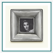 MATCH Pewter Como Square Frame, Small A557.0, MATCH Pewter Custom Picture Frames, Promo Frames