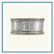MATCH Pewter Bottle Coaster with Wood Insert A780.5, MATCH Pewter Custom Bottle Coasters, Promo Bottle Coaster