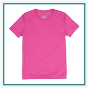 Hanes Ladies Cool Dri Performance T-Shirt 4830 with Silkscreen Logo, Custom Logo Hanes T-Shirts, Hanes 4830 T-Shirt Best Price