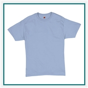 Hanes Comfortsoft Heavyweight 100% Cotton T-Shirt 5280 with Custom Embroidery, Custom Embroidered Hanes T-Shirts, Hanes 5280 T-Shirt Best Price
