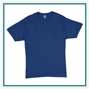 Hanes Comfortsoft Heavyweight 100% Cotton T-Shirt 5280 with Silkscreen Logo, Custom Logo Hanes T-Shirts, Hanes 5280 T-Shirt Best Price