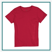 Hanes ComfortSoft Heavyweight Cotton T-Shirt 5680 with Custom Embroidery, Custom Embroidered Hanes T-Shirts, Hanes 5680 T-Shirt Best Price