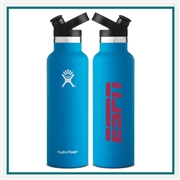 Hydro Flask 21 Oz Standard Mouth w/ Sport Cap Custom