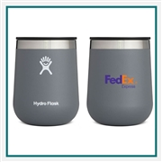Hydro Flask 10 oz Wine Tumbler with Custom Printed