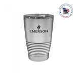 PATRIOT 10oz Curve Ball Tumbler Engraved