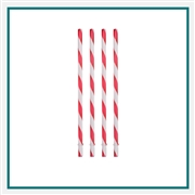PATRIOT Reusable Plastic Straws Printed