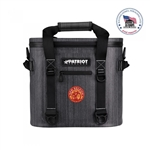 PATRIOT Softpak Cooler 20 with Custom Logo, Patriot Co-Branded Coolers