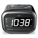 iLuv Morning Call 2 Bluetooth Alarm Clock, iLuv Bluetooth Alarm Clocks, iLuv Custom Logo