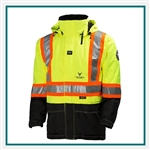 "Helly Hansen Workwear POTSDAM Jacket 4"" Striping Custom Logo"