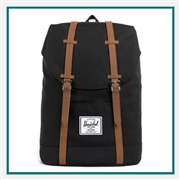 "Herschel Custom Retreat 15"" Computer Backpack 10066 Custom Logo"