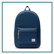 "Herschel Custom Settlement 15"" Computer Backpack 10005 Custom Logo"