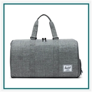 "Herschel Novel 20"" Duffel Custom Logo"