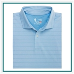 Fairway & Greene Men USA Hero Stripe Polo Custom Embroidery, Fairway&Greene Corporate Polos, Fairway&Greene Branded Polo