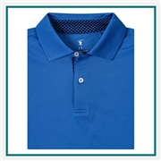 Fairway & Greene Men USA Hurley Polo Custom Embroidery, Fairway&Greene Corporate Polos, Fairway&Greene Branded Polo