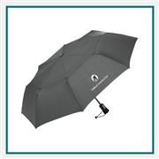 ShedRain WindPro Vented Auto Open Close Compact Umbrella Custom Printed,