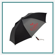 ShedRain RainEssentials Auto Open Jumbo Compact Umbrella Custom Printed