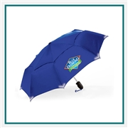 ShedRain WalkSafe Vented Auto Open Safety Umbrella Custom Printed
