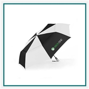 ShedRain Vented Auto Open Close Jumbo Umbrella Custom Silkscreened